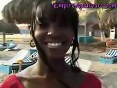 Hot Amateur Black Porn Teen Girl Fucked On Beach tube porn video