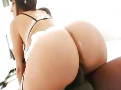 Luxury interracial anus gangbang tube porn video