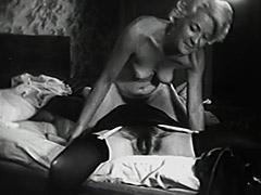 Lesbian Chicks Fucking with Banana 1940 tube porn video