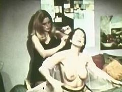 Girls Wrestle in a Female Fight 1960 tube porn video