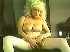 Ambitious Blonde Having Fun in Her House 1970 tube porn video