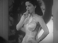 Mrs Blue Undressing and Posing 1950 tube porn video