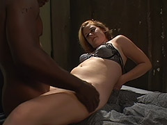 an Awesome Hairy Pussy Fucking and Dick Jumping Video in a Dungeon tube porn video