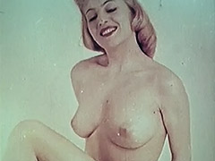 Hot Sweetie Shows Us Her Tight Body 1950 tube porn video