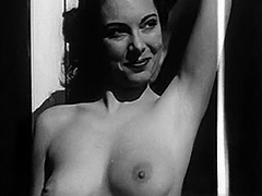 Marvelous Girl Posing and Showing Boobs 1950 tube porn video