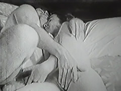 Old and Young Fucking Relations in Bed 1950 tube porn video
