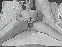 Chick Dreaming of Amazing Fucking in Bed 1950 tube porn video