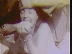Young Girl Walking in the Forest 1950 tube porn video