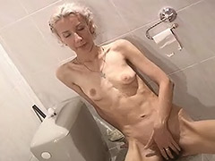 Skinny Girl from Europe Can't get Enough Masturbating Her Hairy Vagina tube porn video