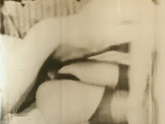Young Lovers Engage in a Threesome 1950 tube porn video