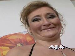 Granny Aja fucks like insane tube porn video