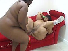Ebony Lesbian Love tube porn video