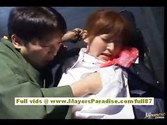 Japanese super sexy teen horny girl tube porn video