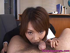 Super hot asian babes sucking and fucking tube porn video