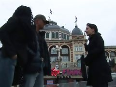 Dutch porn in Scheveningen tube porn video