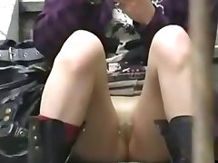 Candid upskirt in the streets tube porn video
