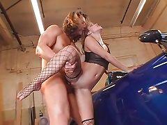 Horny bitch Roxy Jezel banging hard cock tube porn video