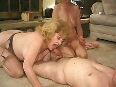 Kitty Foxx fucked in a foursome tube porn video