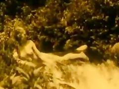 Vintage Erotic Movie 7 Nude Girl at Waterfall 1920 tube porn video