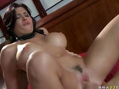 Spanish Pornstar Rebeca Linares Handling a Big Cock With Expertise tube porn video