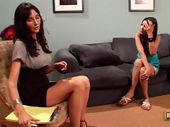 Suzanne Kelly's Lesbian Session with Diana Prince tube porn video