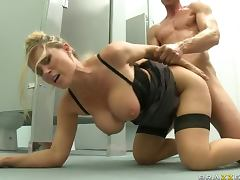 Blonde Teacher Devon Lee with Big Tits and Ass Fucking A Student tube porn video