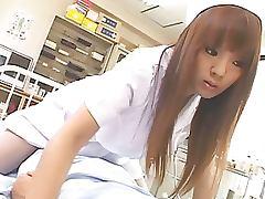 Super Naturally Busty Asian Nurse Hitomi Tanaka Fucks a Patient tube porn video