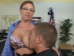 Horny School Teacher Devon Lee Getting Fucked By One Of Her Horny Students tube porn video