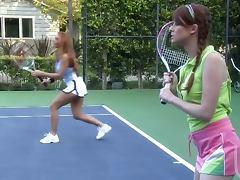 Janet Mason tennis court fuck tube porn video