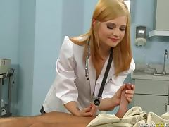 Slender young doctor tube porn video