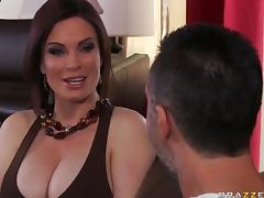 Helping with the Chores Just to Fuck the Hot MILF Diamond Foxxx tube porn video