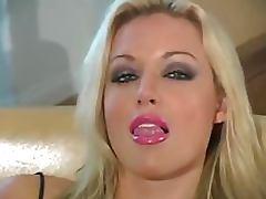 Heart Stopping Blonde Babe Kayden Kross Masturbates In Nylon Pantyhose tube porn video