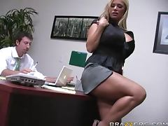 Insanely Busty Blonde Shyla Stylez Gets Anally Pounded By Her Co worker tube porn video