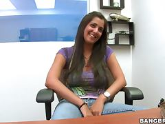 Busty Alabama Persia gets fucked at the interview tube porn video