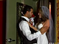 Kinky Pornstar Wedding With Courtney Cummz and Johnny Sins tube porn video