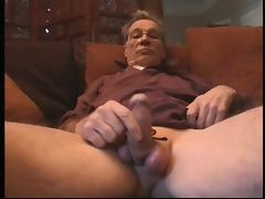 Grandpa triple cumshot tube porn video