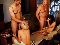 Roxy Jezel in spontaneous foursome tube porn video