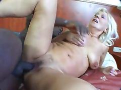 granny interracial tube porn video