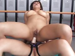 Horny girls in changing room tube porn video
