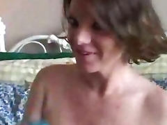 Big tits MILF has a wet pussy tube porn video
