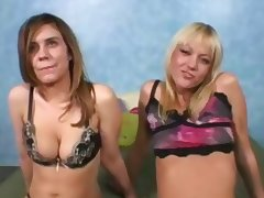 Women crazy for a monster cock tube porn video