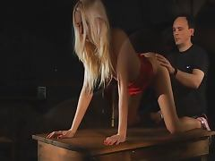 Erica Fontes fucked in the BDSM game tube porn video