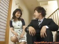 Hitomi Kurosaki mature Japanese woman tube porn video