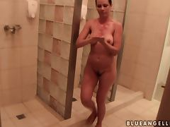 Fun Time in the Sauna and Cooking with Sandy and Blue Angel tube porn video