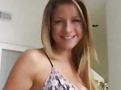 Always beautiful Monica Sweetheart squirting POV tube porn video