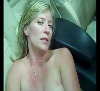 Older SLUT is Talking Dirty in Car tube porn video
