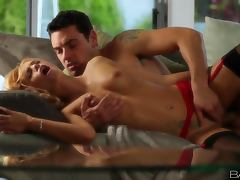 Erica Fontes makes out with some guy and has stunning sex with him tube porn video