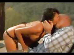 Audrey Bitoni fucked outside tube porn video