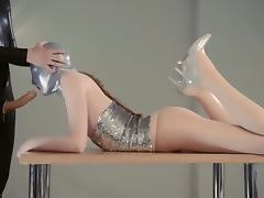 Luxury strapon lezzs in mask playing tube porn video