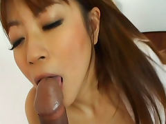 Cock sucking angel Mei Itoya being fucked in hairy pussy tube porn video
